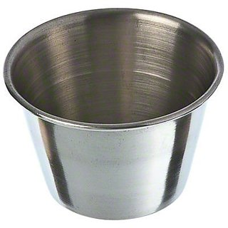 Update International (SC-25) 2-1/2 oz Stainless Steel Sauce Cup [Set of 12]