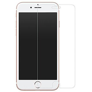 iPhone 7 Screen Protector, MoKo [Tempered Glass] HD Clear 9H Hardness Ballistic Glass Screen Protector with Oleophobic C