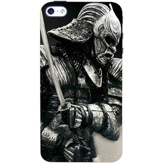 Stubborne Yoshimitsu 3D Printed Apple Iphone 4S Back Cover / Case