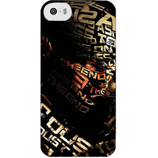 Stubborne Special Force Multicolo 3D Printed Apple Iphone 5C Back Cover / Case