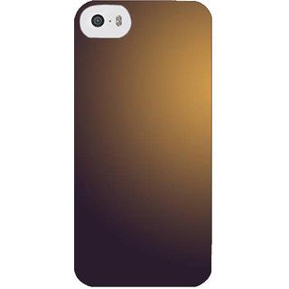 Stubborne Plain Multicolor Texture 3D Printed Apple Iphone 5S Back Cover / Case