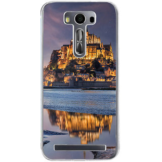 Ifasho Historic Place Fort Back Case Cover For Asus Zenfone Selfie