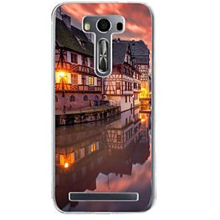 Ifasho Venice City Back Case Cover For Asus Zenfone Selfie