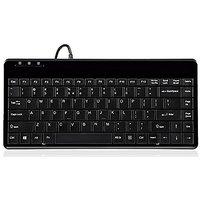 Perixx PERIBOARD-409P, Mini Keyboard - PS2 Interface -