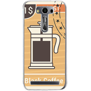 Ifasho Coffee Jug Painting Back Case Cover For Asus Zenfone Selfie
