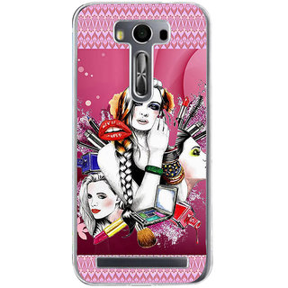 Ifasho Fashion Girls Back Case Cover For Asus Zenfone Selfie
