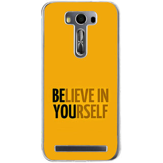 Ifasho Believe In Yourself Back Case Cover For Asus Zenfone Selfie