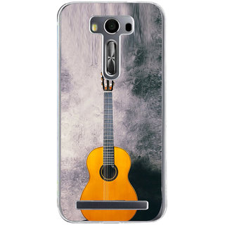 Ifasho Modern Art Design Pattern Music Instrument Back Case Cover For Asus Zenfone Selfie