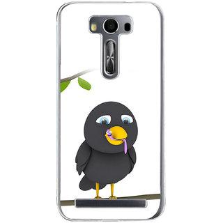 Ifasho Bird Eating Cartoon Back Case Cover For Asus Zenfone Selfie