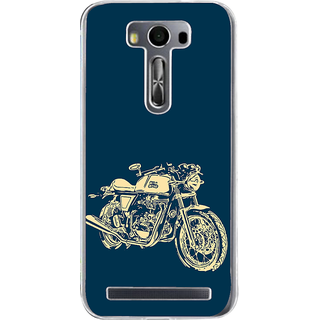 Ifasho Fierry Bike Back Case Cover For Asus Zenfone Selfie