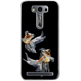 Ifasho Fish In Blue See Back Case Cover For Asus Zenfone Selfie