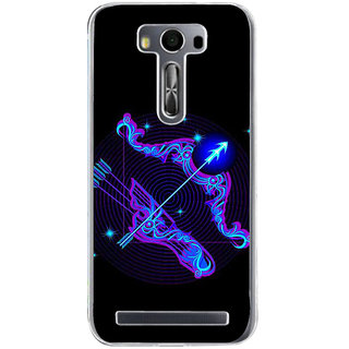 Ifasho Zodiac Sign Sagitarius Back Case Cover For Asus Zenfone Selfie