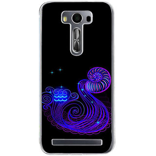 Ifasho Zodiac Sign Aquarius Back Case Cover For Asus Zenfone Selfie