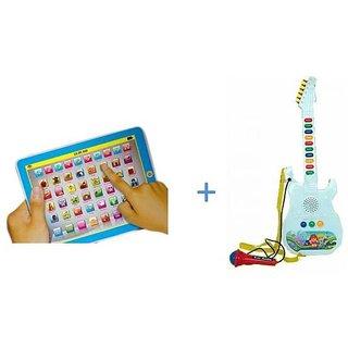 Kids Mini My-Pad + Musical Guitar For Kids