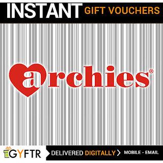 Archies GyFTR Insta Gift Voucher INR 1000