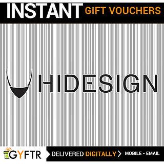 Hidesign GyFTR Insta Gift Voucher INR 2000