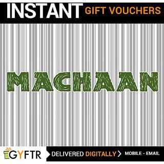 Machaan GyFTR Insta Gift Voucher INR 2000