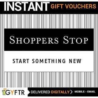 Shoppers Stop GyFTR Insta Gift Voucher INR 1000