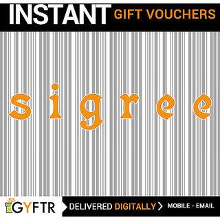 Sigree GyFTR Insta Gift Voucher INR 1000