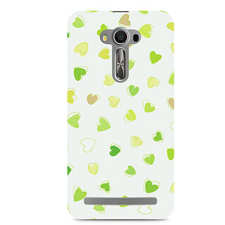 CopyCatz Watercolor Hearts Premium Printed Case For Asus Zenfone 2 Laser ZE500