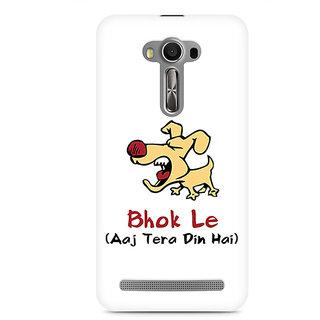 CopyCatz Bhok Le Tera Din Hai Premium Printed Case For Asus Zenfone 2 Laser ZE500