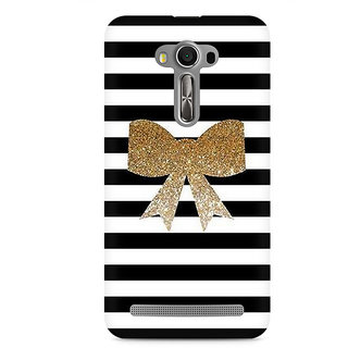 CopyCatz Golden Bow Premium Printed Case For Asus Zenfone 2 Laser ZE550KL