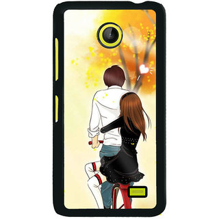Buy Fuson Designer Back Cover For Nokia X2 Love Couple Love Pair
