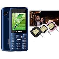Combo Of Ziox Thunder Hero Basic Phone  ShutterBugs USB