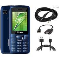 Combo Of Ziox Thunder Hero Basic Phone  ShutterBugs OTG