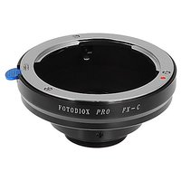 Fotodiox Pro Lens Mount Adapter, for Fujica x-Mount (35mm) lens to C-mount Movie Cameras and CCTV Cameras