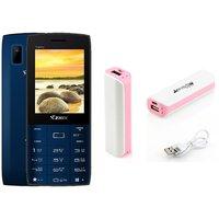 Combo Of Ziox Trendy Basic Phone  ShutterBugs 2600 MAh