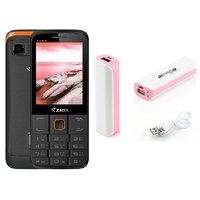 Combo Of Ziox Starz  Basic Phone  ShutterBugs 2600 MAh