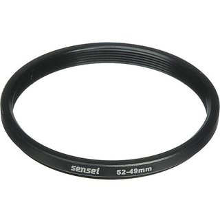 Sensei 52mm Lens to 49mm Filter Step-Down Ring