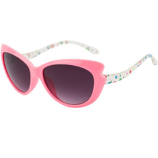 The Blue Pink Black UV Protection Girl Cat-eye Sunglass