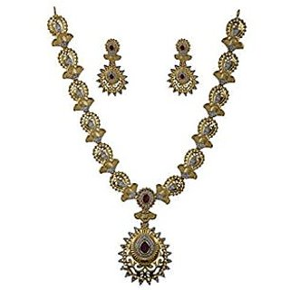 American Diamond Necklace Set for Women