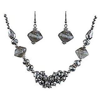 Anuradha Art Crystal Necklace Set for Women