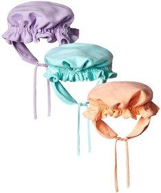 EIO Premium Quality New Born Infants Caps Pack of 3