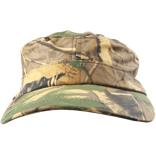 99792d6577e746 Magideal Army Cadet Military Patrol Castro Cap Driving Summer Hat Unisex  Khaki