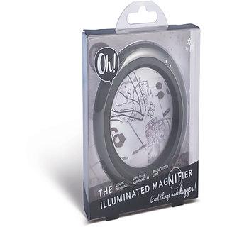 Oh! The Illuminated Magnifier - Vivid Grey