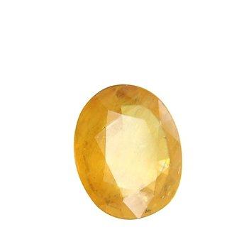 6.50 ct./7.15 Ratti Yellow sapphire/Pukhraj Marka Natural Gemstone