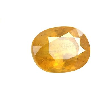 8.50 ct./9.35 Ratti Yellow sapphire/Pukhraj Marka Natural Gemstone