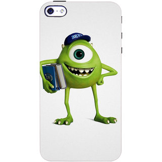 Stubborne Apple Iphone 4 S Cover / Apple Iphone 4 S Covers Back Cover Designer Printed Hard Plastic Case