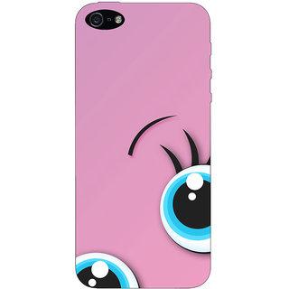 Stubborne Apple Iphone 5 Cover / Apple Iphone 5 Covers Back Cover Designer Printed Hard Plastic Case