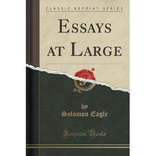Essays At Large (Classic Reprint)