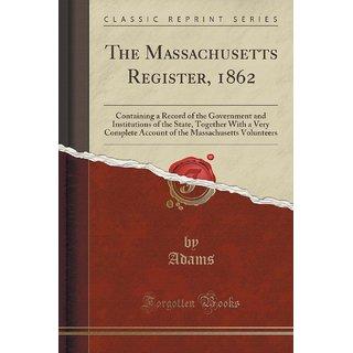 The Massachusetts Register, 1862