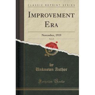 Improvement Era, Vol. 23