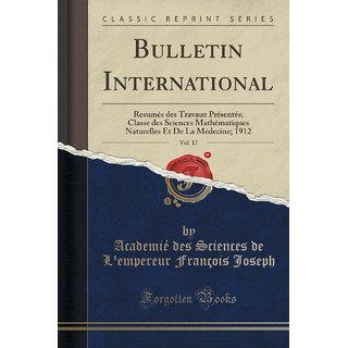 Bulletin International, Vol. 17