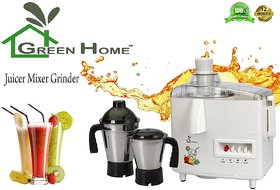 GTC Green Home Juicer Mixer Grinder 450W With 2 Stainless steel Jar