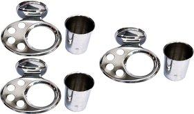 SSS - Glass Holder/Paste Holder/Tooth Brush Holder (Set of 3)