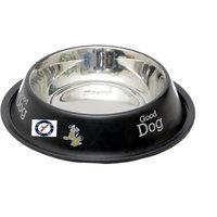 Pethub Quality And Stylish Dog Food Bowl-1600 ML -Black